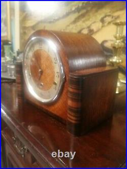 Antique Westminster Chime clock in good condition. Working