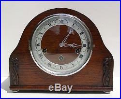 Art Deco German Westminster, Whittington, StMicheal Chiming Mantle Clock