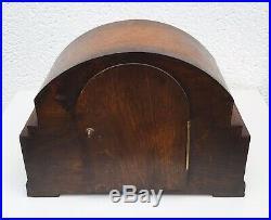 Art Deco Haller Oak Westminster, Whittington Chiming Mantle Clock