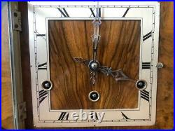 Art Deco Mantel Clock Westminster Chime Spares or Repairs