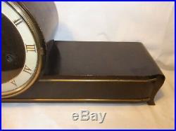 Art Deco Mantel Shelf Clock Westminster Chime #