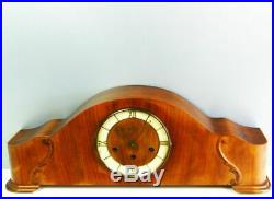 Art Deco Westminster Chiming Mantel Clock From Girod France