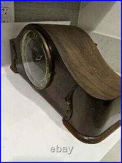 Art Deco Westminster Chiming Mantel Clock Lauffer Germany
