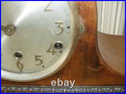 Art Deco mantle clock with Westminster chime