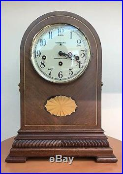 BALDWIN 8 Day Westminster Chime With Wood Inlays