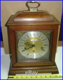 BARWICK Howard Miller Mantle Carriage Clock Westminster Chimes #4992 with3 chimes