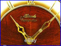 Beautiful Art Deco Bariton Westminster Bbelcanto Hermle Chiming Mantel Clock