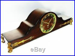 Beautiful Art Deco Superancre Westminster Chiming Mantel Clock