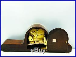 Beautiful Art Deco Westminster Chiming Mantel Clock With Pendulum From Lauffer