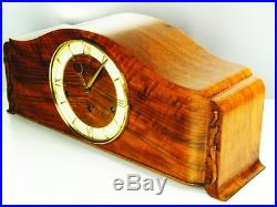 BEAUTIFUL ART DECO WESTMINSTER CHIMING MANTEL CLOCK from GOLDANKER