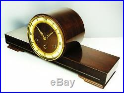 Beautiful Great Art Deco Westminster Chiming Mantel Clock From Lauffer