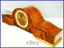 Beautiful Very Great Art Deco Westminster Chiming Mantel Clock From Kienzle