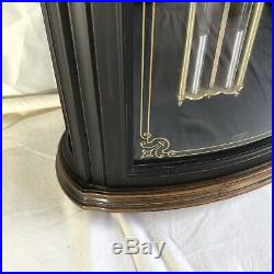 BULOVA Westminster-Whittington Chimes Pendulum Wall Clock Mayfield Model