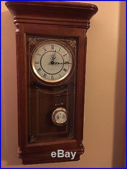 Beautiful 27 Tall Sunbeam Westminster Chime Pendulum Quarts Wall Clock R=A