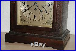 Beautiful Antique SETH THOMAS Westminster Chime Clock Excellent