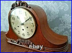 Beautiful Antique Westminster Chime Mantel Mantle Clock