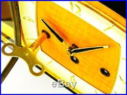 Beautiful Art Deco Westminster Chiming Mantel Clock From Hermle