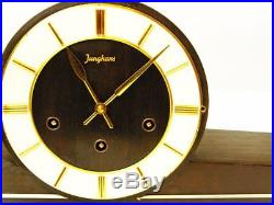Beautiful Art Deco Westminster Chiming Mantel Clock From Junghans 50 ´s