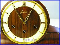 Beautiful Art Deco Westminster Chiming Mantel Clock From Junghans Germany