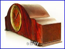 Beautiful Art Deco Westminster Junghans Chiming Mantel Clock