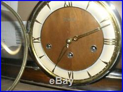 Beautiful Art Deco mantle clock with Westminster chimes