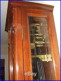 Beautiful German Vienna Regulator Weight Driven Westminster Chime Wall Clock 43