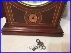 Beautiful Howard Miller Barrister Model Westminster Chime Mantle Clock