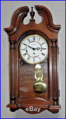 Beautiful Howard Miller U. S. A 8 Day Westminster Chime Wall Clock 613-227 Working