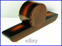 Beautiful Later Art Deco Westminster Chiming Mantel Clock From Junghans 50 ´s