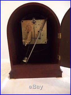 Beautiful Seth Thomas Northbury 8 Day Westminster Chime Clock-Working-1930's