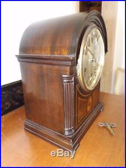 Beautiful Seth Thomas Westminster 8 Day Rod Chime # 96 Chime with124 Movement WOW