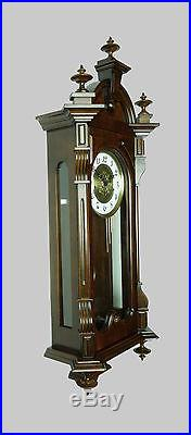 Beautiful Vintage German Franz Hermle Westminster Chime wall clock at 1986