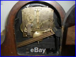 Beautifully inlaid Westminster chime Mantle Clock