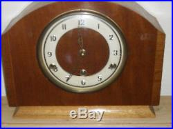 Bentima Mantle Clock with Westminster Chime