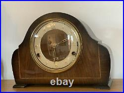 Bentima SUPERB 8 DAY WESTMINSTER CHIMING MANTEL CLOCK. FULLY WORKING