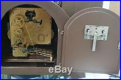 Bentima triple chime mantel clock. Westminster/Whittington/ St Michael. SEE VIDEO