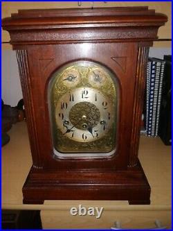 Big Antique Junghans westminster chime Clock