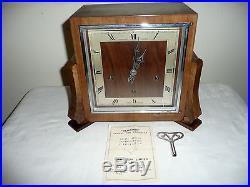 Bravingtons Renown, Whittington / Westminster Chimes Mantle Clock. Excellent