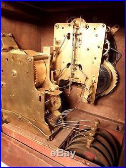 C1915 Seth Thomas 4 BELL SONORA Westminster Chime Adamantine Mantel Clock