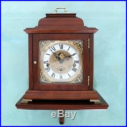 CHRISTIAAN HUYGENS Mantel Clock + Console! Vintage WESTMINSTER! Chime MOONPHASE