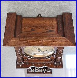CLOCK Wall HERMLE TRIPLE CHIME TOP Huge High Quality Germany Westminster Vintage