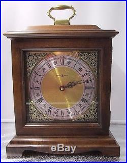 COLLECTIBLE Howard Miller- Grahm Bracket Westminster Chime Mantle Clock