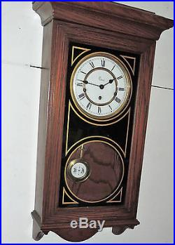 Colonial Molyneux Triple Westminster Chime Wall Clock