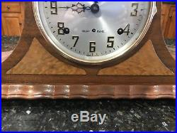 Carefully Restored Sessions Westminster 416 WC Chiming Clock, Operates Perfectly
