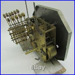 Carillon Vedette westminster Ave Maria 11 marteaux 10 tiges clock chime pendulum