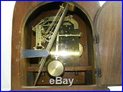 Cathedral Seth Thomas Grand Mantel Clock Westminster Chime 15 Beehive