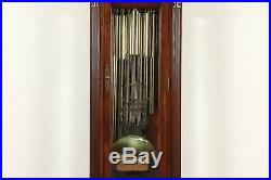 Cherry Vintage Grandfather Long Case Westminster Tube Chime Clock, Sligh #29358