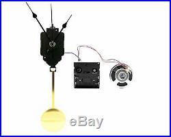 Chime Pendulum Clock Westminster Mechanism Chiming Kit Wall Movement-Melody Han