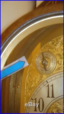 Circa 1928 Seth Thomas #70 Walnut Cased Mantel Clock Westminster Chime Mantle