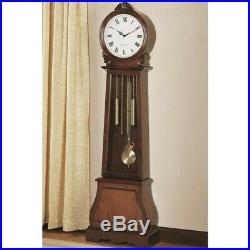 Coaster Grandfather Clock in Cherry
